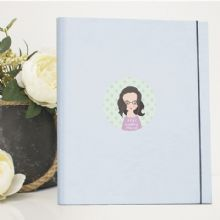 A4 Luxury Wedding Planner/Organiser featuring Personalised Cartoon Image - Ideal Engagement Gift